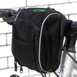 Wholesale Wholesale Bicycle Panniers - Newest Be-Soul Waterproof Handle Bar Bags Cycling Sport Bike Accessories Bicycle Frame Pannier 0.5L free shipping