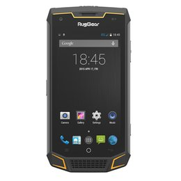 Wholesale Shockproof Waterproof Gps Phone - RugGear RG740 GrandTour Rugged Smart Phone IP68 Waterproof Shockproof Dustproof