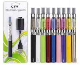 Wholesale Ego Kit Ce4 Atomizer Clearomizer - Ego starter kit CE4 atomizer Electronic cigarette e cig kit 650mah 900mah 1100mah EGO-T battery blister case Clearomizer E-cigarette Dhl