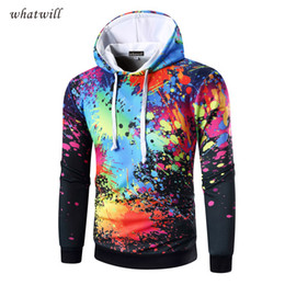 Wholesale 3d Animal Sweatshirts - Wholesale- New fashion 2017 3d printed hoodies fitness mens hoodies & sweatshirts hip hop chandal sudaderas hombre casual men's clothing