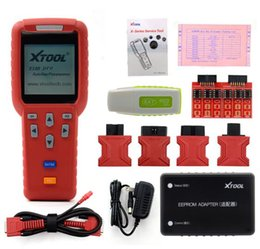 Wholesale Obd Programmers - DHL free X-100 PRO X100 Pro Auto Key Programmer X100pro for IMMO&ODOMETER and OBD Software Function with EEPROM Update Online