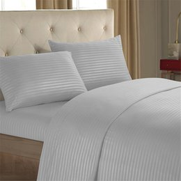 Wholesale King Sheet Sets Cotton - 2017 NEW free shpping NEW 1000TC Ultra SOFT Flat & Fitted Sheet Set Queen King Super King Size Bed 4 Pieces - New