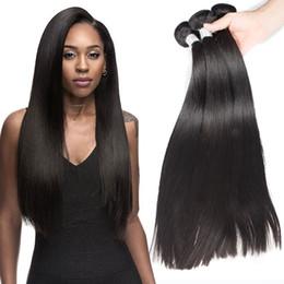 естественное скручивание 16 дюймов Скидка Сексуальная Формула необработанные прямые человеческие волосы перуанский девственные волосы 3 пучки естественный цвет углам волос Бесплатная доставка