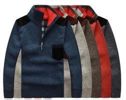 Wholesale Plus Size Orange Cardigan - 2016 Top Popular cashmere Blent men's sweaters winter Businessman warm cardigan Zipper sweater famous Brand jumper pullover plus size M~3XL