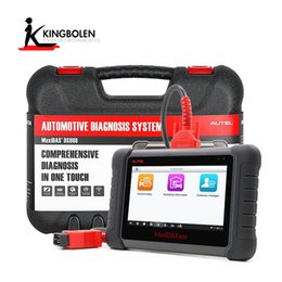 Wholesale Injector System - AUTEL MaxiDAS DS808 KIT Tablet Diagnostic Tool Support Injector & Key Coding Better Than Autel Maxidas DS708 Full System Diagnosis Scanner