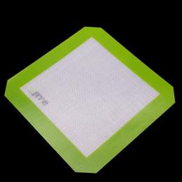 aceite de silicona grande Rebajas Antiadherente gran almohadilla de silicona para la cera 20.3 CM x 20.3 cm de silicona para hornear estera aceite Dab hornear almohadillas de hierbas secas