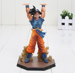 "Wholesale Figuarts Zero - 6.8"" Figuarts zero Anime Dragon Ball Z Son Goku Genki dama Spirit Bomb PVC Action Figure Collection Toy"