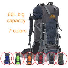 2017 vendita calda zaino outdoor borsa da viaggio borsa sportiva grande capacità muti funzione impermeabile campeggio escursionismo borsa da grande viaggio in cielo fornitori