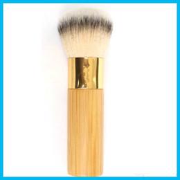 Wholesale Airbrush Free - 2017 NEW Tarte Buffer Airbrush Finish Bamboo Foundation Brush Makeup Brushes Markup Tool High Quality free shipping