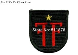 Wholesale Iron Patches Baseball - FRINGE DIVISION BERET Movie TV Show Series Costume Cosplay Embroidered Emblem iron on patch Baseball Cap Badge