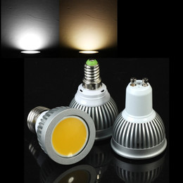Wholesale Mr16 Cob Pure - Super Bright Led Lights 7W 9W GU10 MR16 E14 E26 E27 B22 Led Bulbs Dimmable Warm Pure Cold White Led Spotlight 85-265V