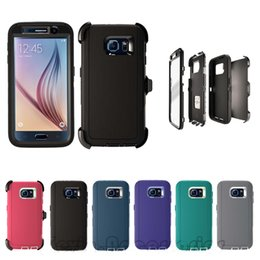 Wholesale Robot Heavy Hybrid Cases - Best Top Selling Robot 3 in 1 Heavy Duty Tough Armor Defender Case Rugged hybrid Cover For iphone 7plus 6s samsung Galaxy s6 s7 edge s8 plus