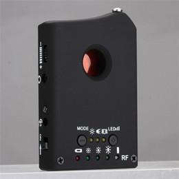 Detector de lentes rf on-line-2 em 1 Detector de Câmera Multifuncional LDRF-DT1 Buscador de Bug de Áudio GPS Lente de Sinal GSM Rastreador RF de Freqüência Completa