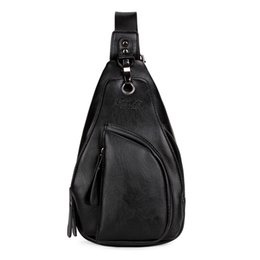 Wholesale Multifunctional Arrival - New Arrival Brand Man Crossbody Bag Multifunctional High Capacity Black Men's Sling Bag Messenger Bag With Buckle