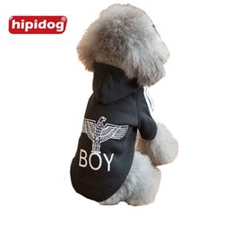 Wholesale Dog Cooling Jacket - Hipidog Fashion Dog Hoodie Jacket Apparel Spring Autumn Comfortable Multi Patterns Cool Dog Pet Coat Clothing Outwear Size XS-XXL