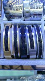 Wholesale Stainless Steel European Bracelets - Hot sale European popular high-quality, European style stainless steel MB bracelet, people love to wear to buy.