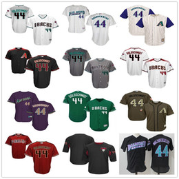 Wholesale Arizona Diamondbacks Paul Goldschmidt Black Batting Practice Red Gray White Purple Green Mens MLB Baseball BP Jerseys Cheap Outlets