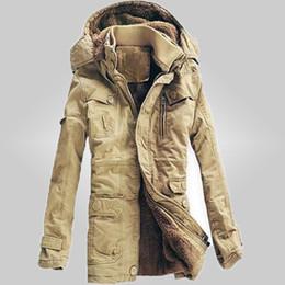 Wholesale Vintage Down Parka - Wholesale- free shipping New Arrivals 2017 Men winter dress Jacket Winter Down Parka Man Overcoat 3 colors Men cotton-padded jackets