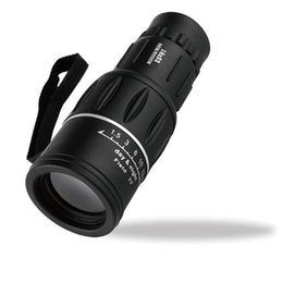 Wholesale Outdoor Monocular - 2017 Best Selling DHL Shipping 16 x 52 Dual Focus Zoom Optic Lens Armoring Monocular Telescope Outdoor AP