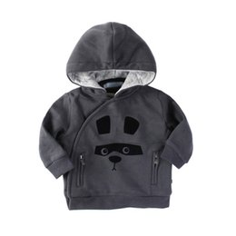 Wholesale European Style Jackets - Baby Boys Clothing Outwear Long Sleeve Cotton Animal Pattern European Style Hoodies Winter Infant Clothes Jackets