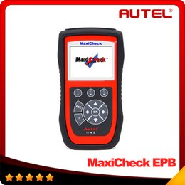Wholesale Automotive Clear - Original Autel MaxiCheck EPB Brake Pads Replacement And Recalibration Clears EPB SBC Trouble Codes 100% Original DHL free shipping
