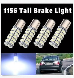 Wholesale 68 Smd Led 1157 - 50PCS 1156 1157 68-SMD Tail Stop Brake Light LED Lamp Bulb 8000K Camper Turn Signal Light bulbs