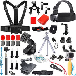 Wholesale Dive Kit - Accessories Kit for Gopro Hero 5 4 3+ 3 2 1 SJ4000 SJ5000 SJ6000 SJ7000 Camera bundle kit for Xiaomi Yi, (25in1)