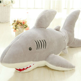 Wholesale Video Shark - High Quality 70cm Shark Plush Toy Stuffed Pillow Doll Birthday Gift Kids Toy Baby Toy Nice Brinquedos for Children
