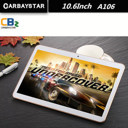 Wholesale Tablet Computer Learning - Wholesale- CARBAYSTAR 10.6 inch A106 MT8392 Octa Core Rom 64GB 1.5GHz Android 5.1 tablet android Smart Tablet PC,Kid Gift learning computer