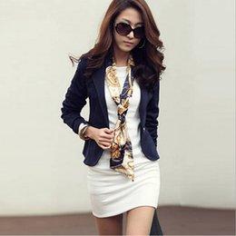 Wholesale Women Herringbone Blazer - Fashion Small Suit Version Slim Long Sleeve Blazer New Fashion Feminino Casual Jackets 8P
