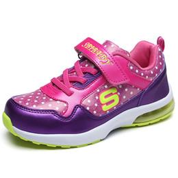 Wholesale Antislip Flooring - New Children Shoes Girls Boys Sport Shoes Antislip Soft Bottom Kids Fashion Sneaker Comfortable Breathable Mesh