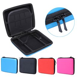 Wholesale Hard Storage - Latest Style Hard Protective Zip Cover EVA Storage Case For Nintendo 2DS Protective Holder Handle free shipping Made in China