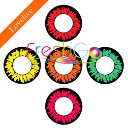 Wholesale Freshgo Lovelive Series Animation Cosplay Big size color contact lens Cosmetic contacts with big eyes