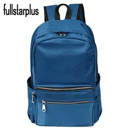 Wholesale Import Pack - Wholesale- Women Backpack for School Teenagers Girls Stylish School Bag Ladies Imported nylon zipper Backpack Female Back Pack High Quality