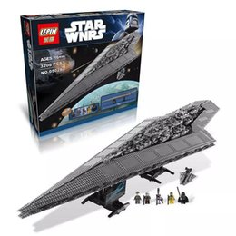 Wholesale 1 LEPIN Star War Series Destroyer Executor anime Building block model toys for children Christmas