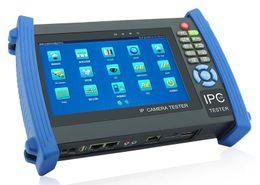 Wholesale Hd Poe - 7 inch 6 in 1 HD CCTV tester monitor IP TVI AHD CVI SDI analog cameras tester PTZ wire tracer ONVIF wifi POE 12V2A output