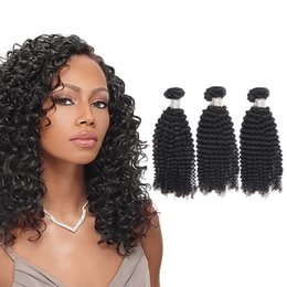 Wholesale Tangle Free Curly Hair Weave - UGlam New Arrival Mongolian Kinky Curly Virgin Hair Human Hair Weaves 3pcs lot Free Shipping No Tangle No Shedding