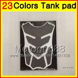 Wholesale Carbon Cbr - 23Colors 3D Carbon Fiber Gas Tank Pad Protector For HONDA CBR1000RR 15 16 17 CBR 1000 RR 1000R CBR1000 RR 2015 2016 2017 3D Tank Cap Sticker