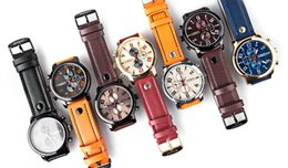 Wholesale Montre Dhl - CURREN Luxury Casual Men Watches Analog Military Sports Watch Quartz Male Wristwatches Relogio Masculino Montre Homme 8192 Free by DHL