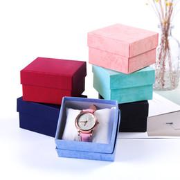 Küçük mücevher hediye kutuları ambalaj kutuları hediye kutuları İzle ambalaj hediye kutusu parti favor kutusu 3.3x3.1x2.08inch nereden kutu toptan satış tedarikçiler