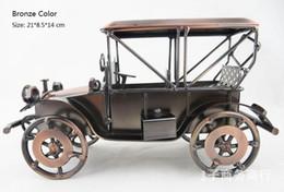 Wholesale I modelli famosi dei bambini delle automobili della lega fatta a mano del metallo si dirigono all ingrosso automobili classiche del metallo di colore