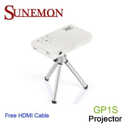Wholesale Video Projects - Wholesale-Free shipping original GP1S mini WIFI Projector Full HD 1080P Home theater projecting camera LED video home Multimedia uc50