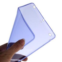 Wholesale Case Ipad Tpu Gel - Wholesale- Good Hand Feel Soft Gel TPU Skin Silicone Back Case Cover for iPad mini 1 2 3 Retina Feb24