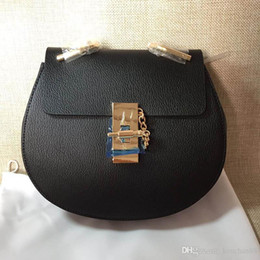Wholesale Cloe Bag - Famous Luxy Brand Design Women Crossbody Shoulder Bag High Quality Small Chain Genuine Cowskin Suede Leather Cloe Bag Free Shipping