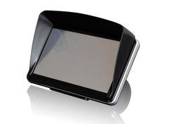 Wholesale Gps Sun Shade Inch - Wholesale- car Free shipping GPS Sun Shade Visor for 4.3 inch & 5 inch GPS Navigation Sun-shading Cover Shading Sun Hat - Black