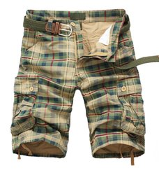 Wholesale Men Clothing Foreign - Wholesale-2016 Summer Mens Cargo Shorts Foreign Men Beach Shorts Loose, Casual Clothes Camouflage Short Large Size Multi-pocket