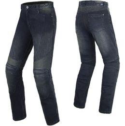 Wholesale Motorcycle Motorbike Pants - Men's Motorbike motorcycle pants BENKIA HDF-PC54 motorcycle racing denim jeans Racing Jeans Casual Pants free shipping