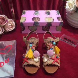 Wholesale Summer High Top Sandals - 2017 new beach style luxury rhinestone women flats sandasl,euro size 34-41 women shell top quality summer flat sandals free shipping