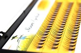 Wholesale Individual Lashes 14mm - 6 8 9 10 11 12 14mm Individual natural Mink Eyelash Extension. Artificial Fake False Eyelashes