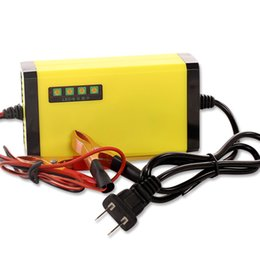 Wholesale max car battery - Wholesale-Car Battery Charger MAX 3A 220VAC To DC12V Universal Lead acid Battery With Digital Display EU   US  AU Plug